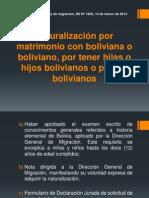 Naturalización por matrimonio con boliviana o boliviano,.pptx