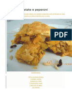 Sfoglia Di Patate e Peperoni