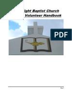 Lamplight Baptist Staff Handbook