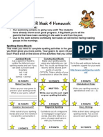 homework - term 4 week 4