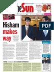 The Sun Malaysia Cover (4 April 2008)