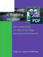 Cultivating a Thinking Surgeon New Perspectives on Clinical Tea