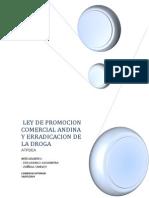 LEY DE PROMOCION COMERCIAL ANDINA Y ERRADICACION DE LA DROGA.docx