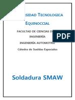 Soldadura Smaw y Saw