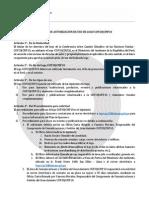 Política de autorización de uso de Logo COP20