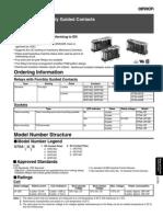 Omron - G7SA Relay Spec Sheet
