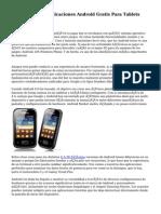 Mejores Aplicaciones Android Gratis Para Tablets