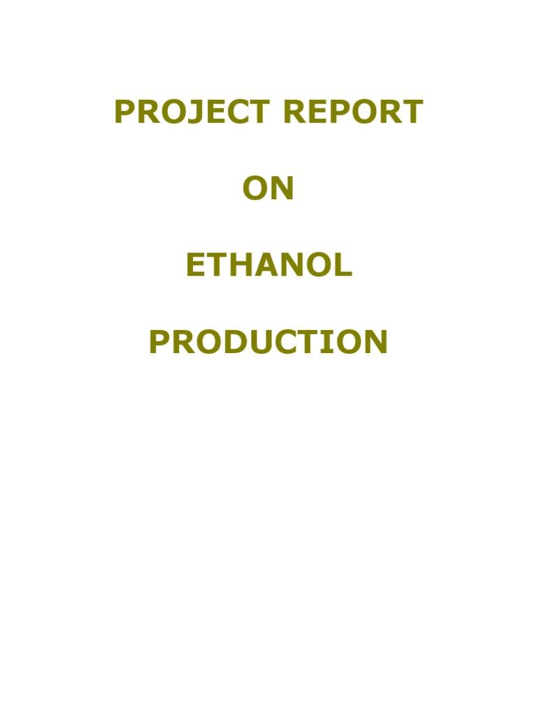 Alcohol Fermentation Distillation Ethanol Process Flow Diagram For Production From Molasses