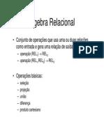 Banco de Dados - EP - Aula 03 - Álgebra Relacional.pdf