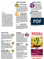 Zumba Brochure 1