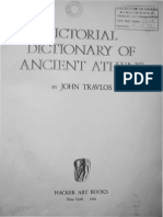 Pictorial Dictionary of Ancient Athens.John Travlos