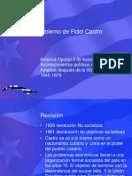 El Gobierno de Fidel Castro (1)