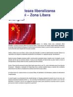 China Testeaza Liberalizarea Economiei