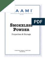 SAAMI ITEM 200-Smokeless Powder