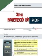 Guia de Parametrizacion de Variador Micromaster.ppt