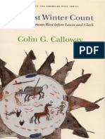 Colin G. Calloway One Vast Winter Count the Native American West Before Lewis and Clark 2003