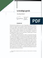 15. Teresa Rojas Rabiela. La tecnologia agricola.pdf