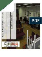 """Plano de Acção BE """"A Casa de Camilo"""""""