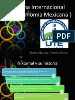 Cocina Internacional (Gastronomia Mexicana ).pptx