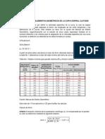 CALCULO DE LOS ELEMENTOS GEOMÉTRICOS DE LA CURVA ESPIRAL CLOTOIDE.docx