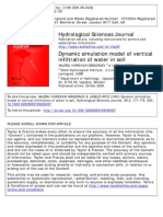 Dynamic Simulation Model of Vertical