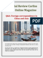 Financial Review Corliss Group Online Magazine - Q&A