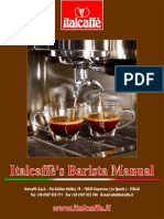 Italcaffes Barista Manual