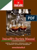 Italcaffes Barista Manual