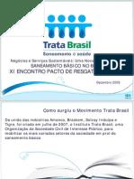 Saneamento Básico no Brasil - Trata Brasil