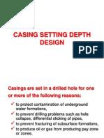 8-Casing Setting Depth Design