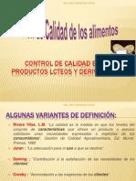 CLASE 01 CONTROL DE CALIDAD EN PRODUCTOS LCTEOS Y DERIVADOS.pptx