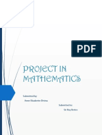 Project in Mathematics