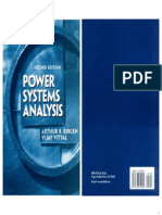 Power Systems Analysis - Arthur R. Bergen, Vijay Vittal