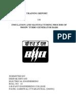 (Bhel) Report