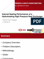 Brazil 2014ugm Performance of Hydrotreating High Pressure Heat Exchanger