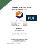 Laporan Kimia Dasar Rekristalisasi-2 (1)