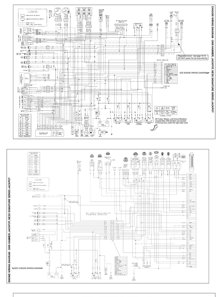 Victory Hammer Wiring Diagrams