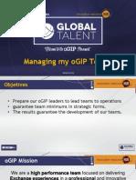 managing my ogip team