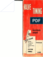 Valve Timing for Max Output