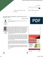 Average Export Obligation Under Epcg