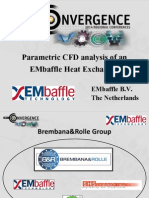 Italy 2014ugm Analysis of Embaffle Heat Exchanger