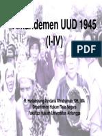 UUD 1945 Amandemen