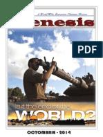 Revista Genesis Editia Octombrie 2014