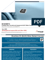 MC9S08MP16 Safe Accurate and Inexpensive BLDC Motor Control From Freescale