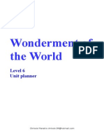 wonderment of the world