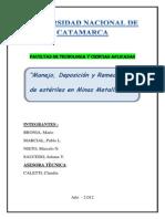 TRABAJO DE INVESTIGACION - JORNADAS DE MINERIA- MANEJO DE ESCOMBRERAS (1).docx