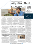 The Daily Tar Heel for Oct. 24, 2014