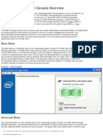 Intel Matrix Storage Console He