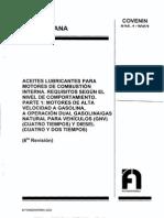 Aceite lubricante para motores de combustion interna segun el nivel de comportamiento.pdf