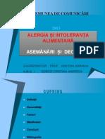 Alergia, Hipersensibilitatea si Anafilaxia 3.ppt